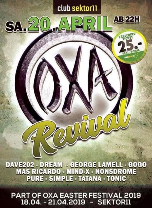 20190420 OXA Revival Party